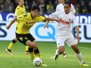 Kagawa: Endlich wieder mit einer guten Leistung. War gerade in der ersten Halbzeit Dreh- und Angelpunkt des Spiels. 2,5