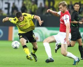 Lewandowski gegen Mertesacker
