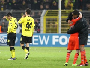 Disappointment in black and yellow