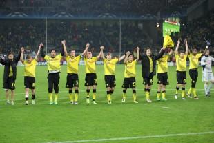 Borussia won against Piraeus