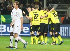 1-0 durch Lewandowski