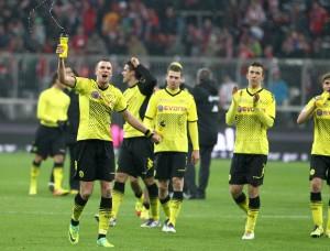 Borussia Dortmund gewinnt in München und feiert