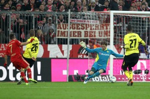 Great save by Weidenfeller