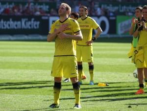 Florian Kringe in seinem letzten Auswärtsspiel - von den Fans geliebt, Gänsehautgefühl
