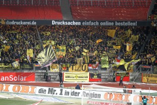 About 6,000 supporters and Ultras were in Nuernberg