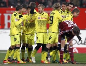 Borussia won in Nuernberg