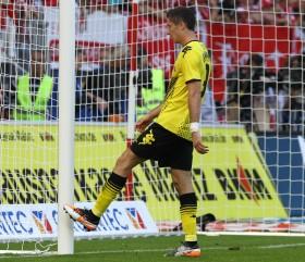 Lewandowski ärgert sich