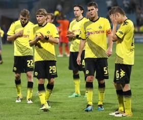 Niederlage in Marseille