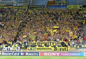 The new guest area for bvb-fans