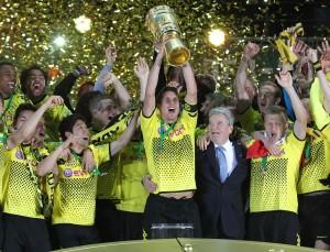 Double winner Borussia