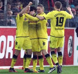 Frühes 0:1 durch Robert Lewandowski