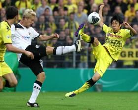 Kagawa erzielt das 0-2