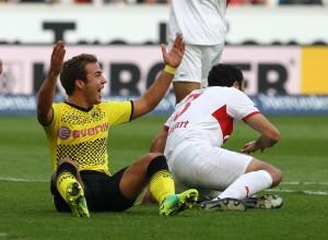 No penalty for Mario Goetze