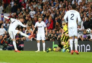 ...und Sergio Ramos gar das gefürchtete 2:0