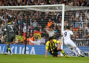 Karim Benzema erzielte den Anschlusstreffer