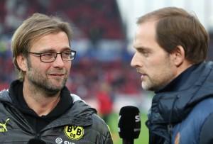Klopp und Tuchel vor dem Spiel im Interview