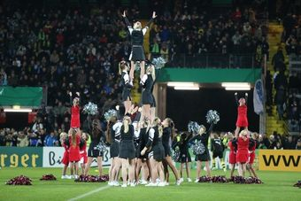 Cheerleader in Aalen