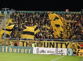 Dortmund Fans in Aalen