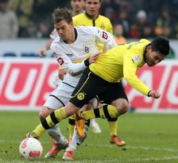 Ilkay Guendogan in action