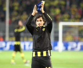 Hummels was celebrated after the final whistle