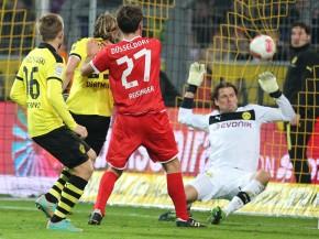 Goal against