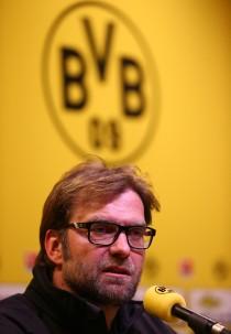 Jürgen Klopp auf der anschließenden Pressekonferenz