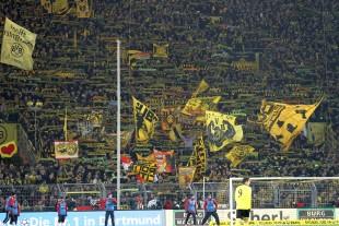 Die Gelbe Wand Südtribüne Dortmund