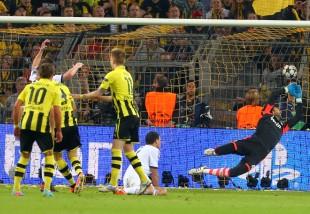 Nix zu halten - das 3:1 durch Lewandowski