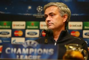 Verhaltener Auftritt: Mourinho