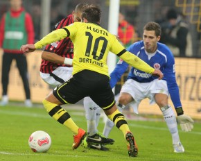 Mario Götze showed a great performance