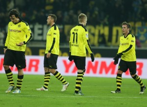 Borussia's players
