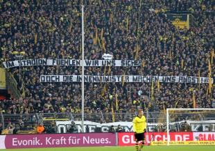 Auch gegen Wolfsburg gab es 12:12 Minuten Stille