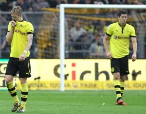Ratlosigkeit bei Reus und Lewandowski