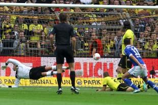 Roman Weidenfeller war beim 0-1 chancenlos