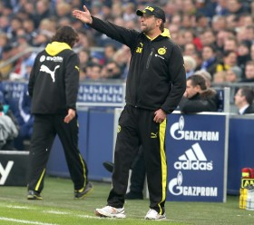 Jürgen Klopp in action