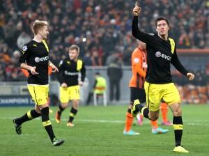 Robert Lewandowski ist gegen Frankfurt gesperrt