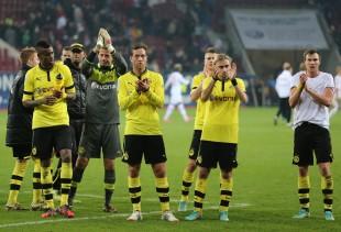 FC Augsburg vs Borussia Dortmund