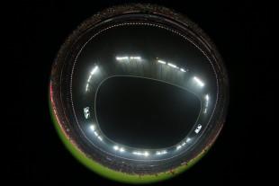 Mit 71.000 Zuschauern war die Arena natürlich ausverkauft