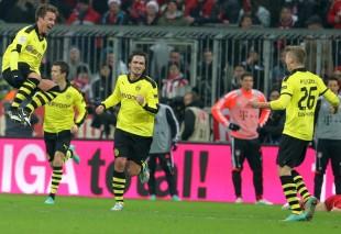 Zwischenzeitlich macht man auch in München, wie Mario Götze, eine gute Figur
