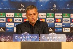 Jose Mourinho bei der PK