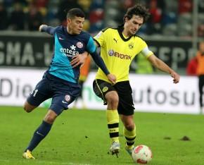 Solider Auftritt in Düsseldorf: Mats Hummels