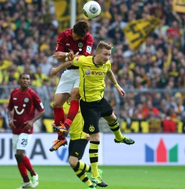 Stärkster Mann in der Dortmunder Offensive. Das war allerdings heute auch nicht sonderlich schwer.