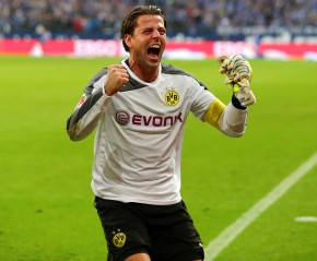 This is Weidenfeller as well: after a won derby in GE