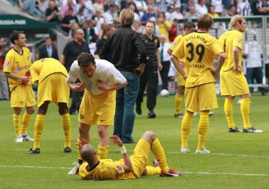 In 2008/09 Borussia lost the 5th place in Gladbach