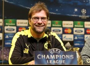 Jürgen Klopp auf der heutigen Pressekonferenz