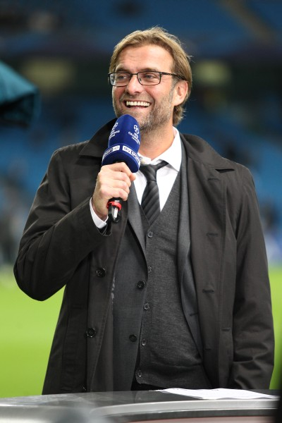 Trainer Klopp im ChampionsLeague Outfit