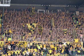 Gästeblock im Weserstadion