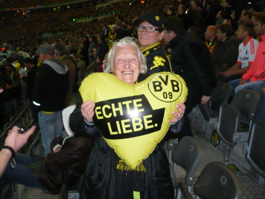 Dorothea and Borussia - real love