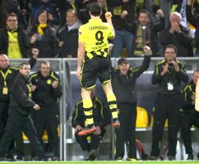 1-0 Lewandowski