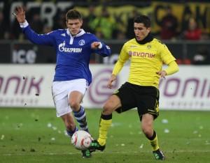 Sahin (r.) against Huntelaar